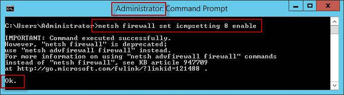 Enable Ping Replies - Preparing for a Forex VPS Failure