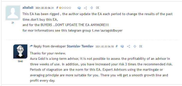 review alialiali aura gold ea 2 - Aura Gold EA